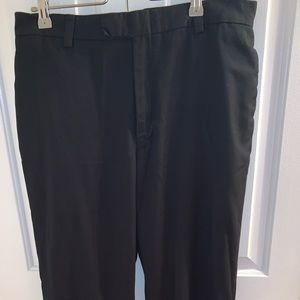 Men's black dress pant